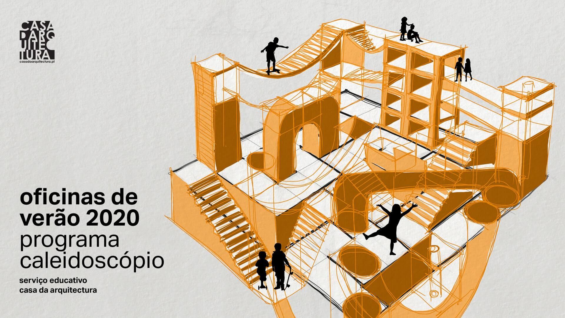 Casa da Arquitectura: Oficinas de verão para crianças entre 6 aos12 anos