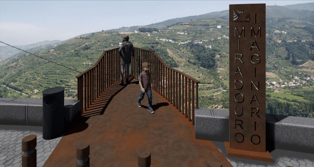Douro vai ter um miradouro em forma de Barco Rabelo