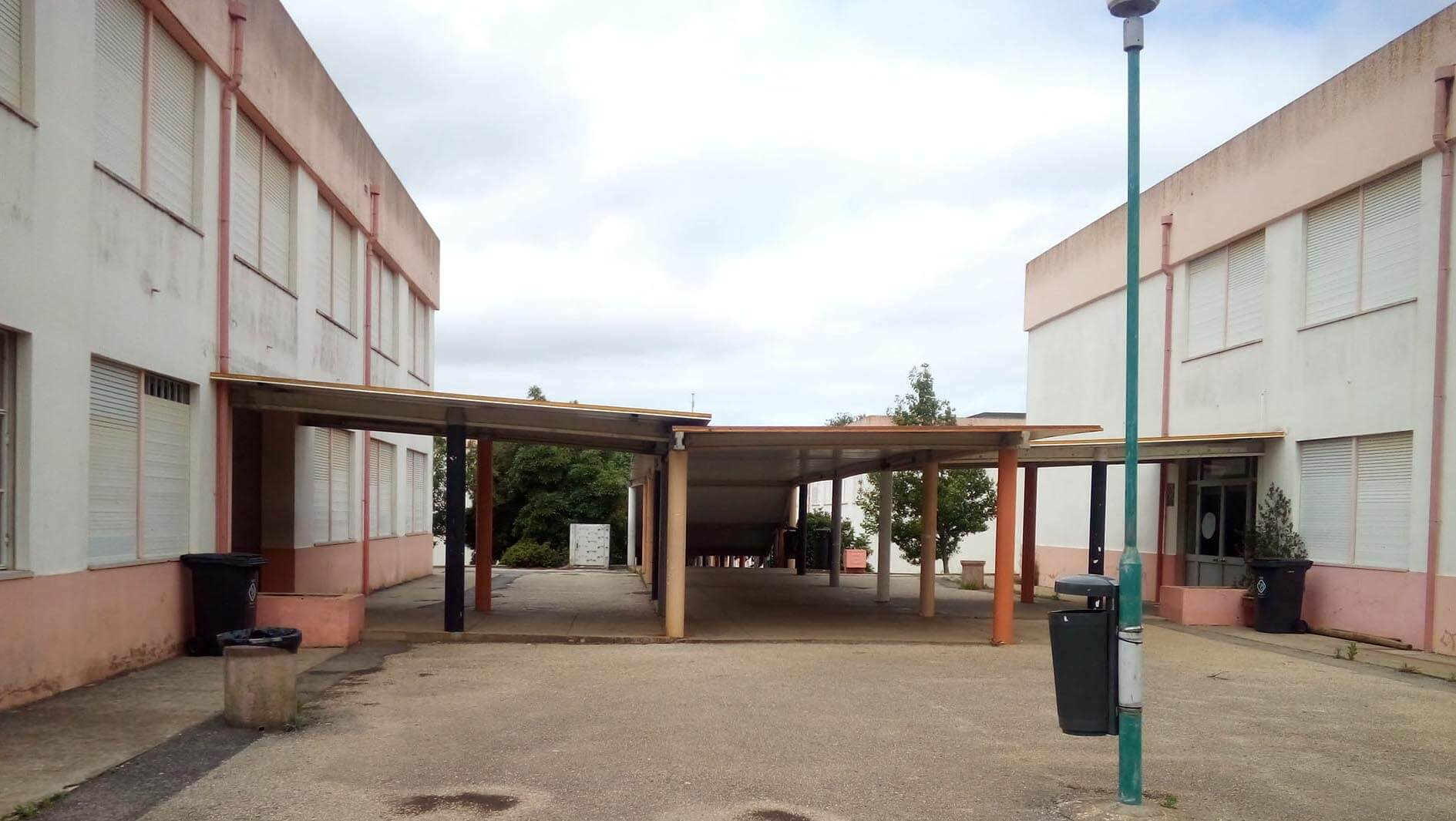 Requalificação da Escola Básica e Secundária Ibn Mucana