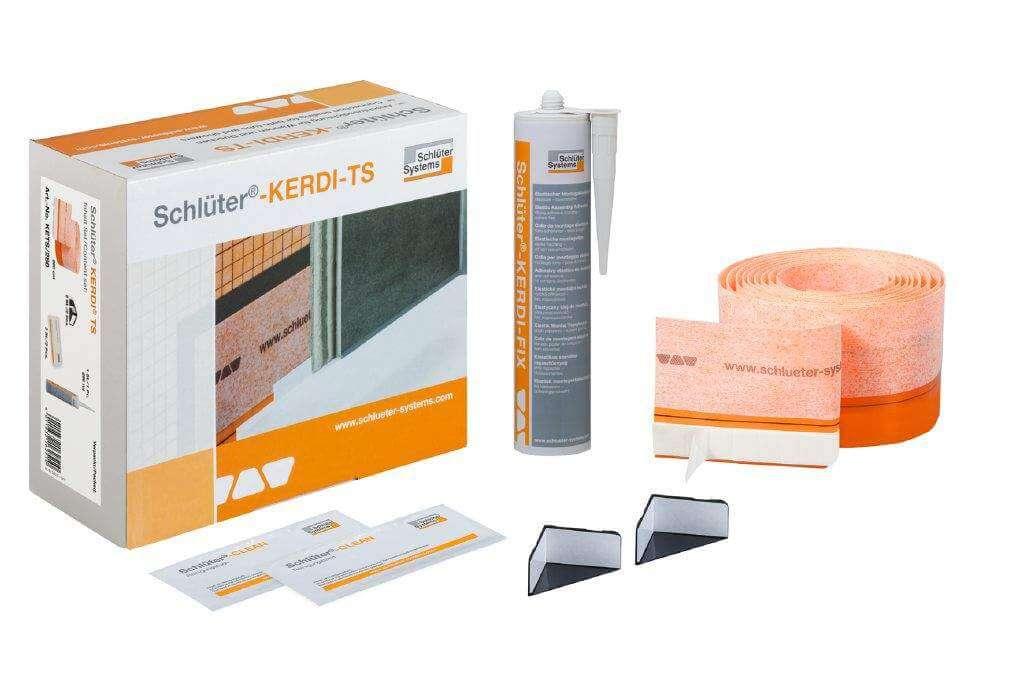 Schlüter®-KERDI-TS – kit completo para vedação