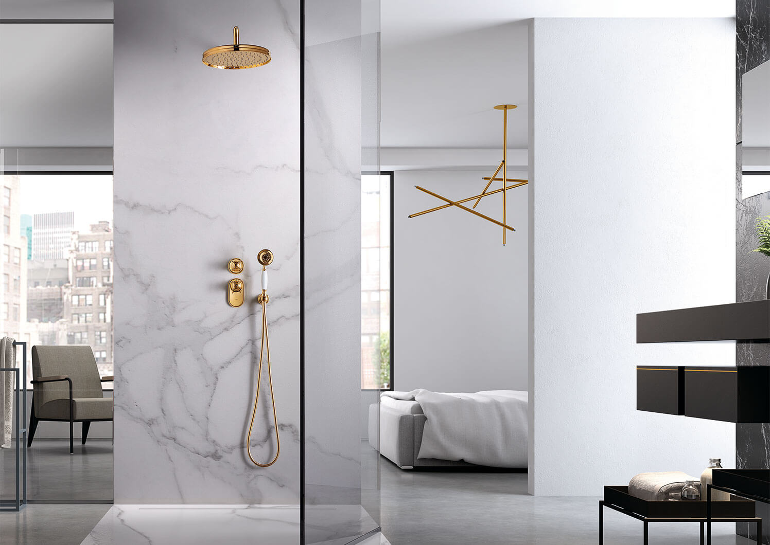 Tres-clasic Shower Technology