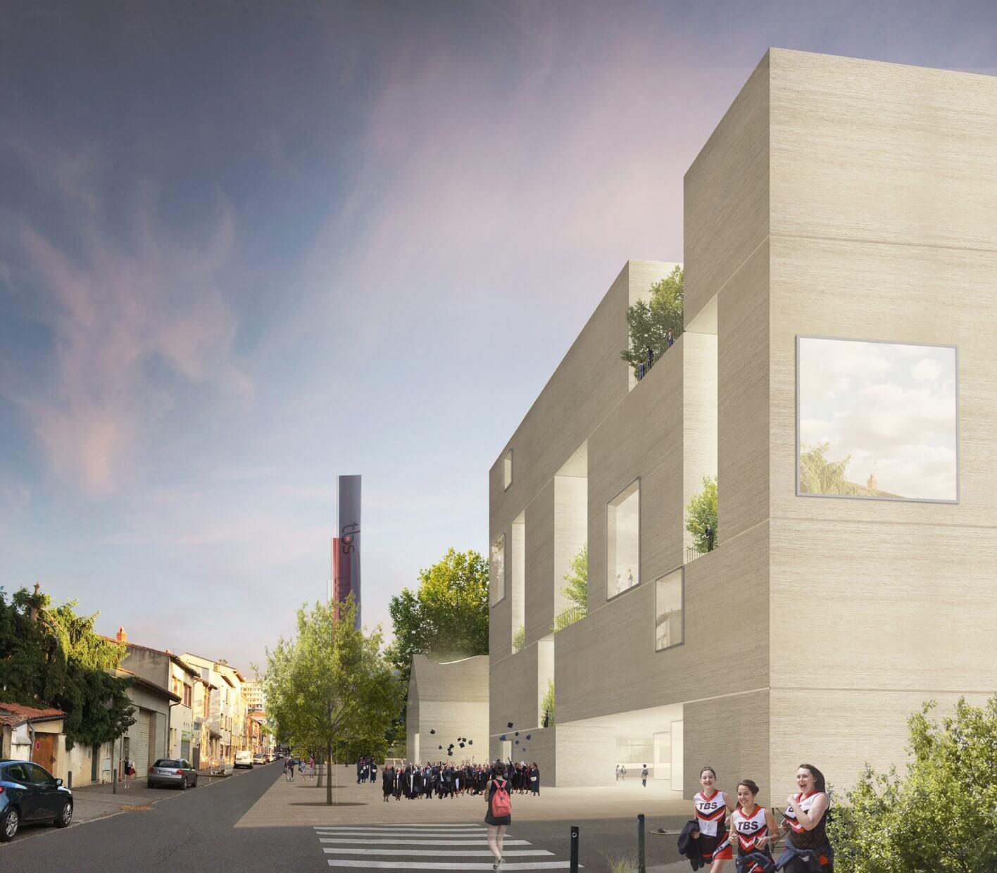 Aires Mateus vencem concurso para o novo campus da Toulouse Business School em França