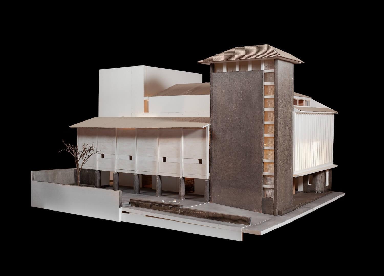 Cineteatro Mangualde requalificado com projeto de arquitetura do atelier José Lobo Almeida. Foto © José Campos