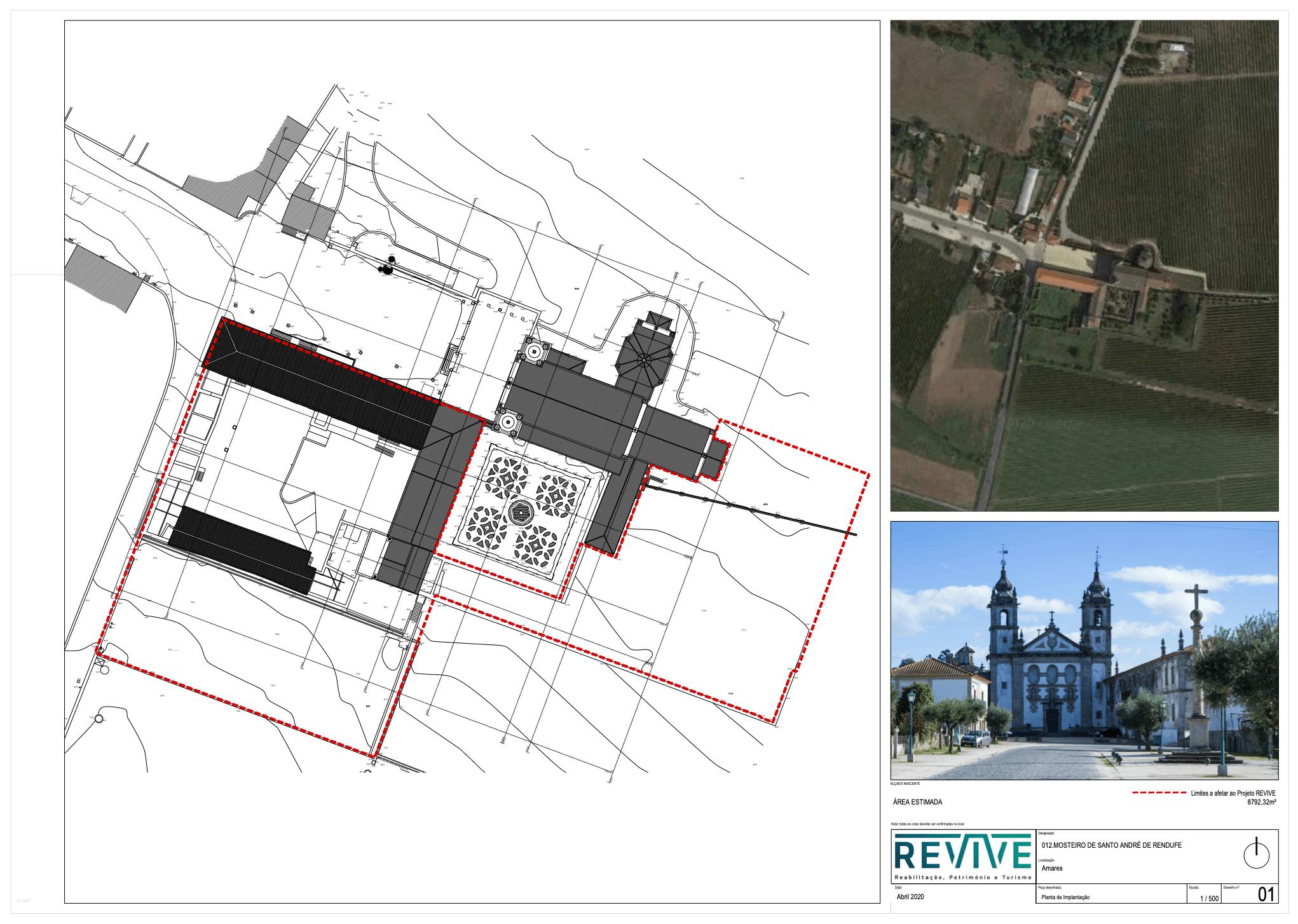 Concurso para concessão do Mosteiro de Santo André de Rendufe