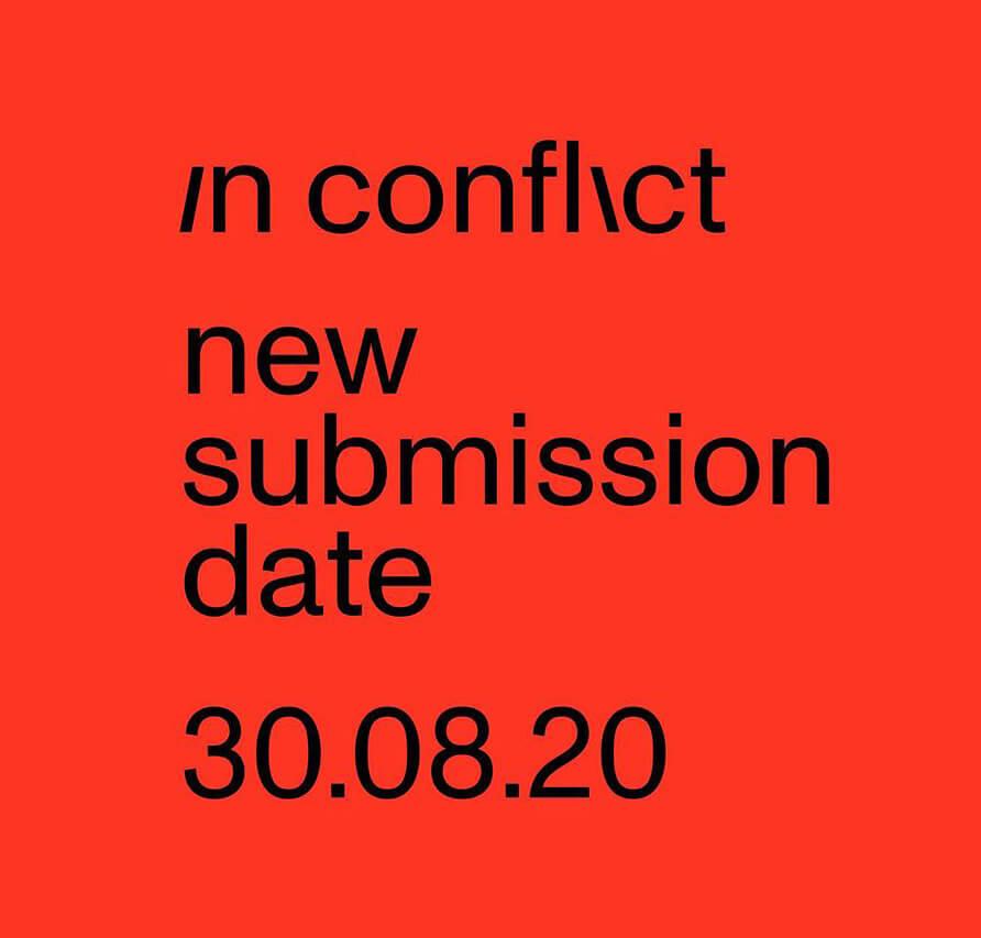 Novas datas de submissão para o Open Call – In Conflict