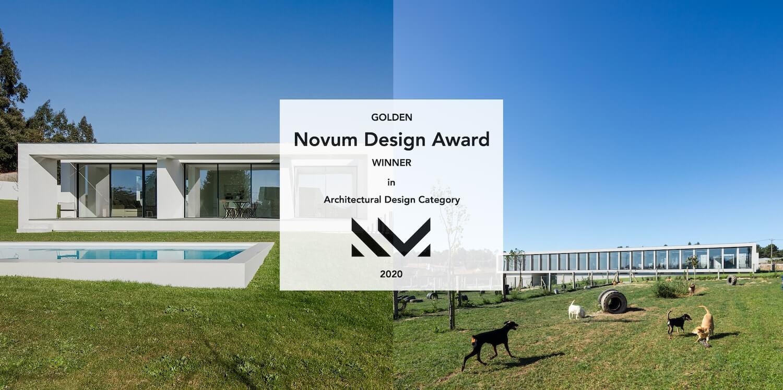 Raulino Silva vence o prémio de arquitectura Novum Design Award 2020, em Paris