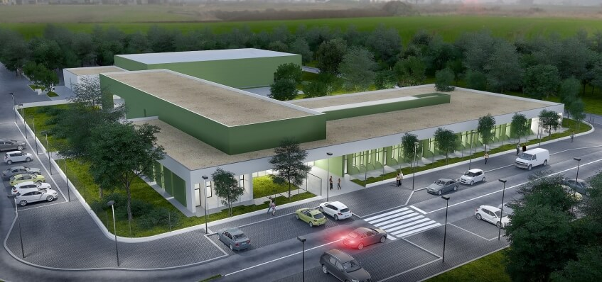 Concurso público de Empreitada para construção da Escola Básica do Ramalhal
