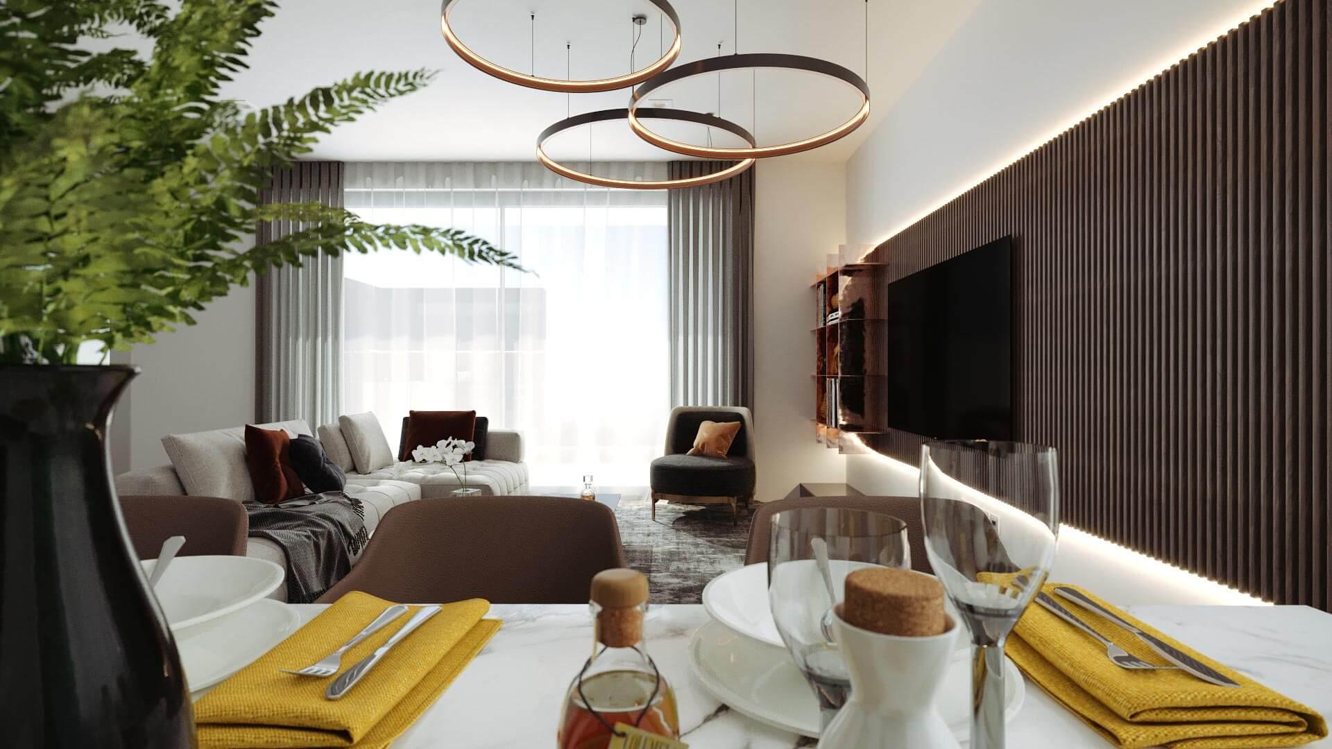 projeto sala - decoração de interior