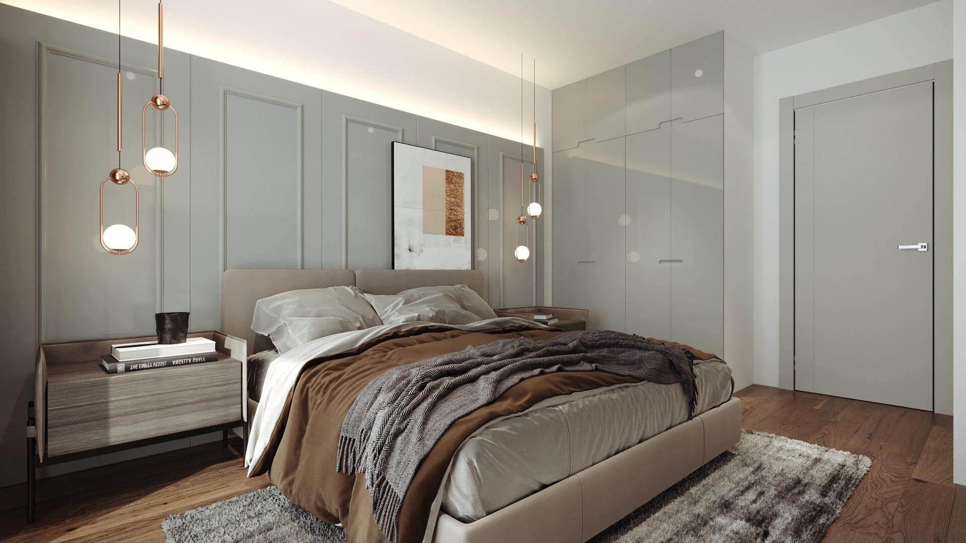 projeto de decoração de interiores para apartamento em vila do conde