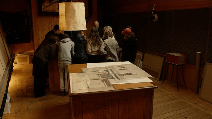 'Collecting Architectural Ideas' de Niall Hobhouse, com Álvaro Siza
