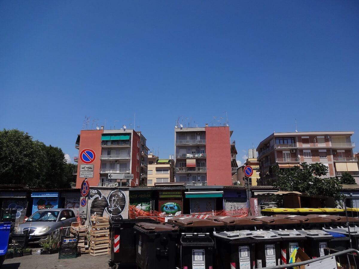 Concurso Internacional: Novo mercado em Roma