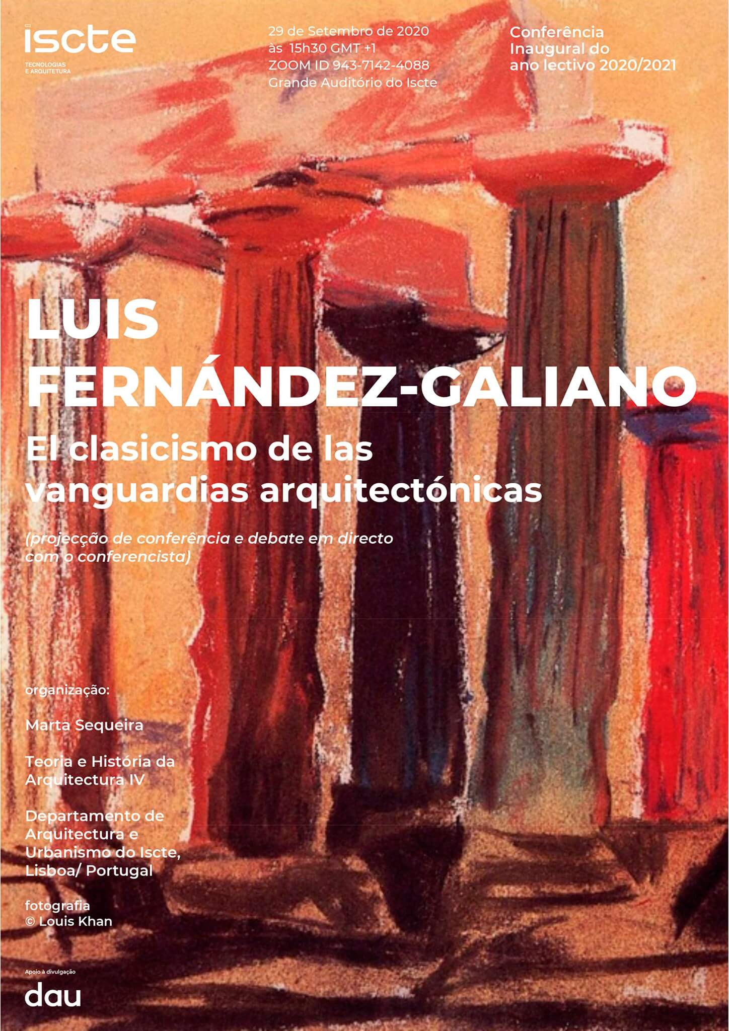 Conferência com Luis Fernández-Galiano