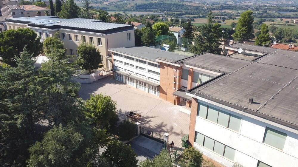 Requalificação da Escola Secundária Marco Martello em Itália