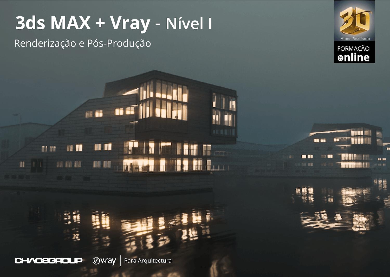 Formação Online 3dsMAX + Vray – Nível I