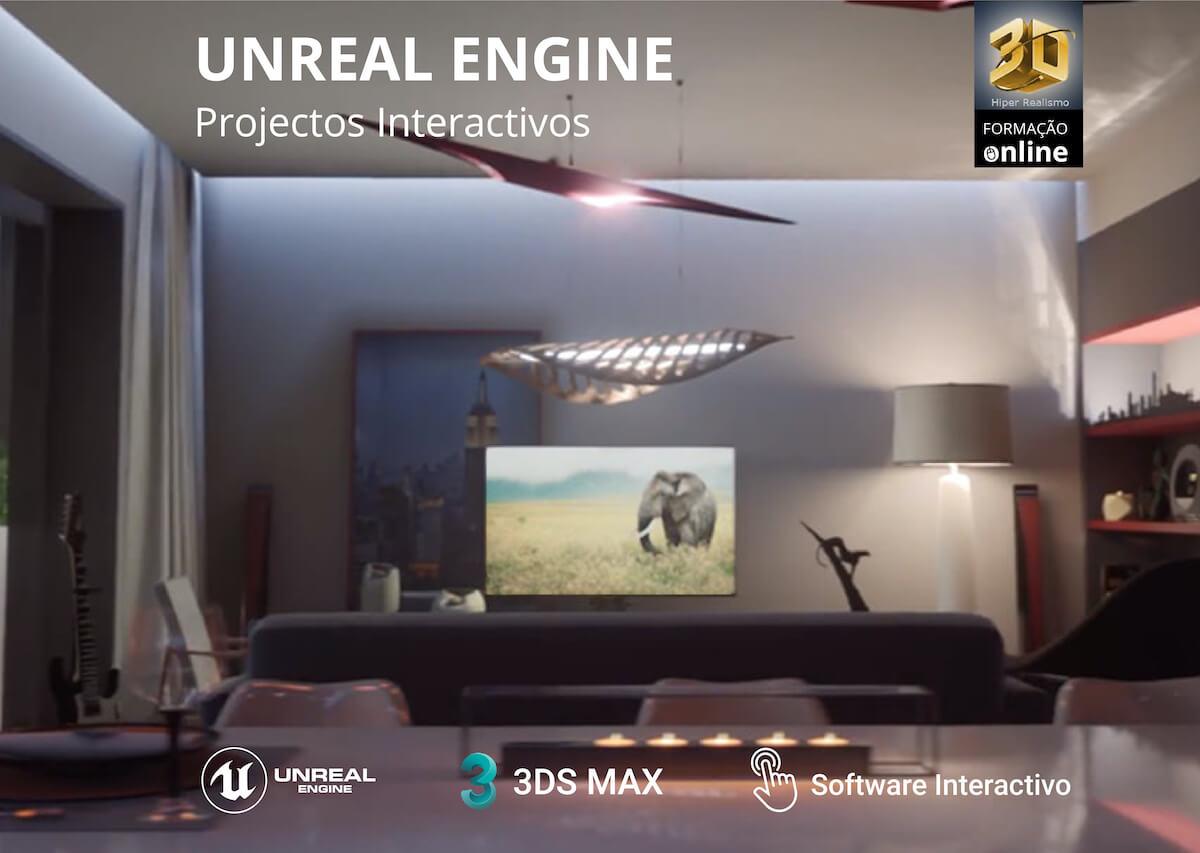 Formação Online UNREAL ENGINE – Projectos Interactivos