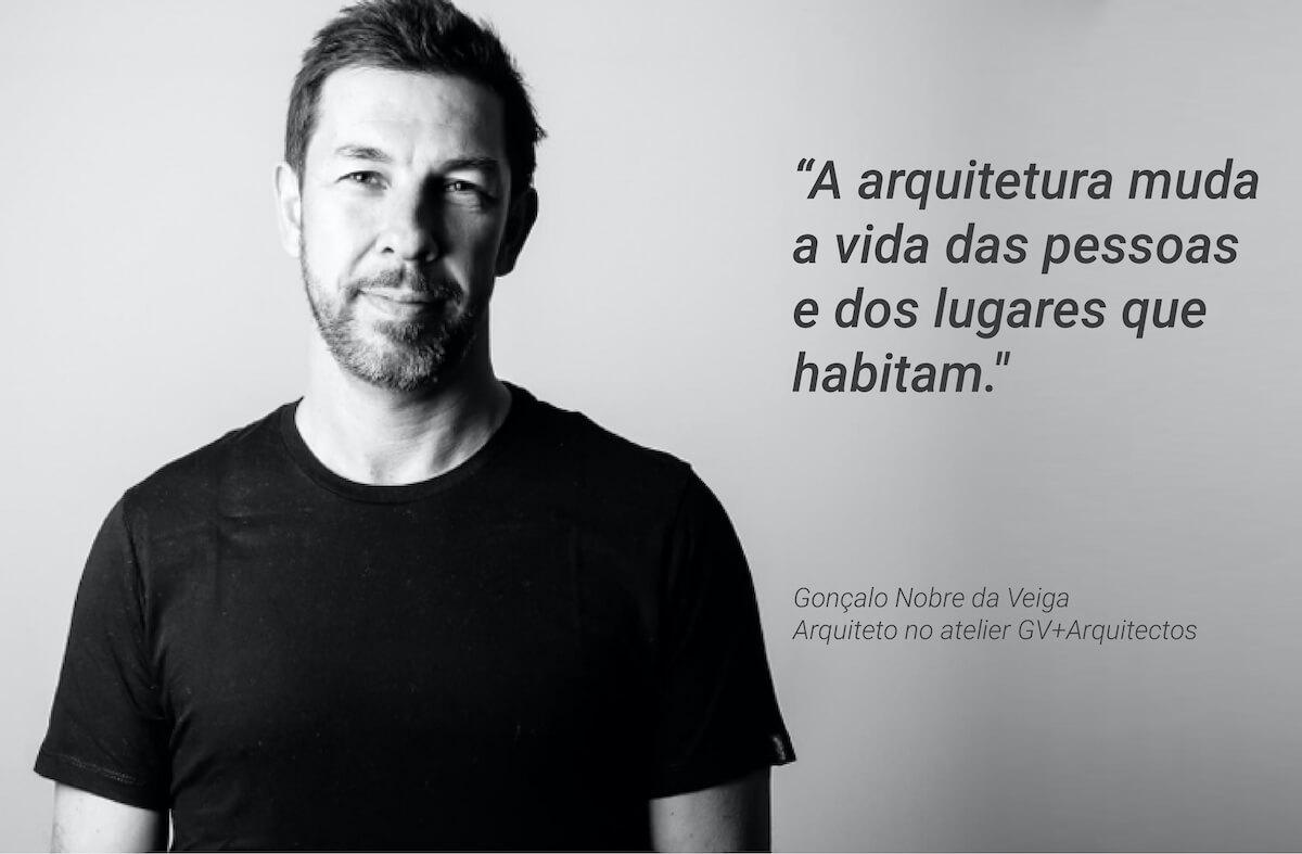 Entrevista ao arquiteto Gonçalo Nobre da Veiga