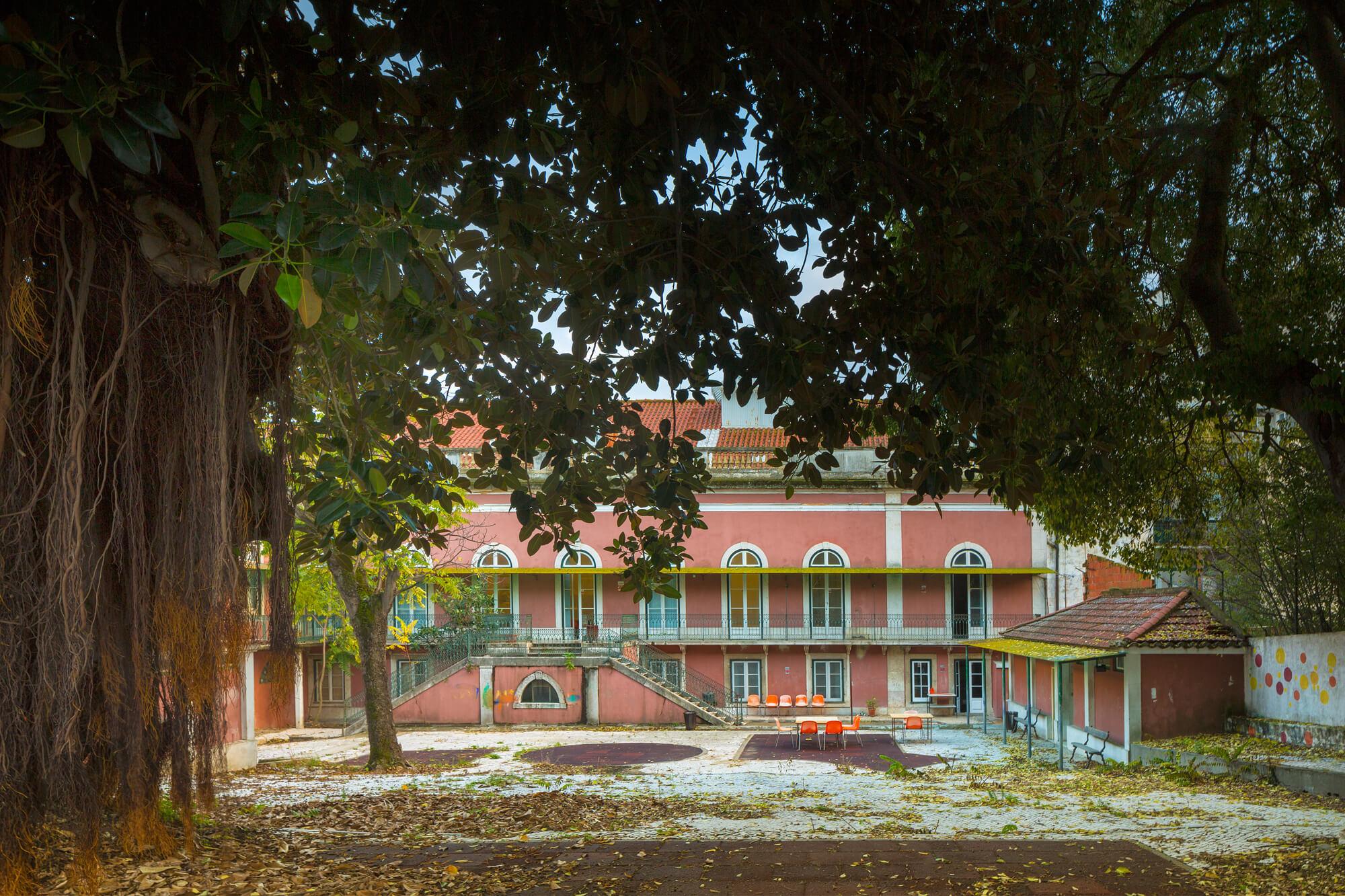 Palácio Sinel de Cordes, Pátio . Pátio Interior © FG+SG, Fotografia de Arquitectura