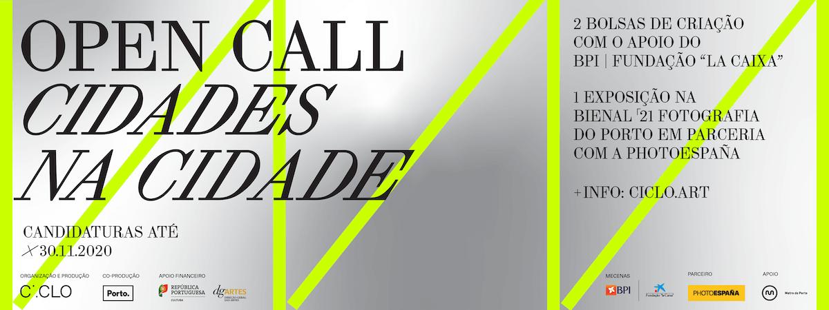 Bienal'21: Open Call «Cidades na Cidade»