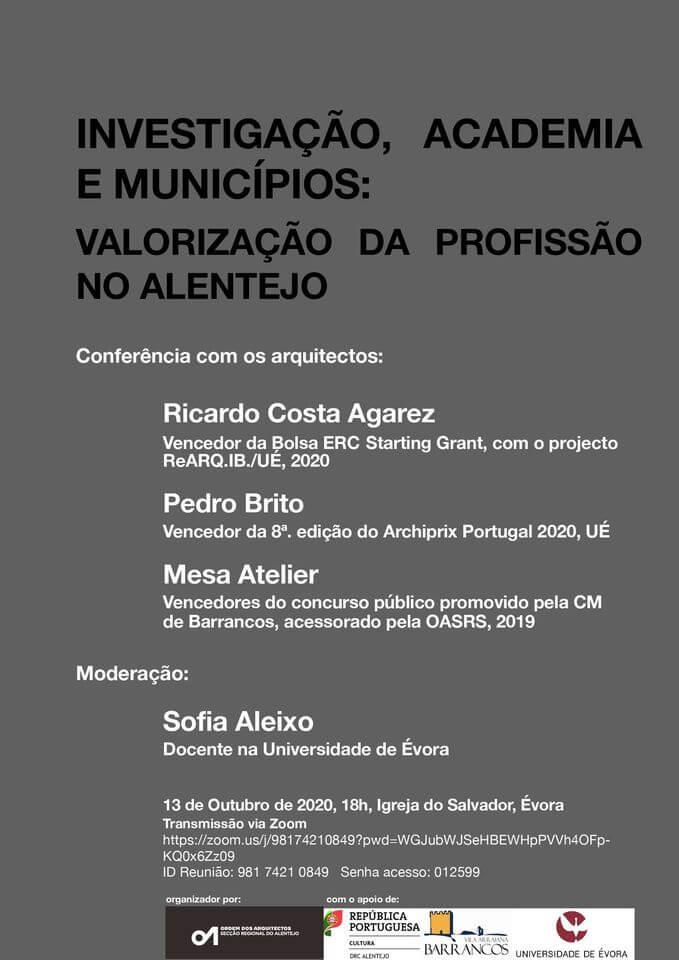 Conferência: Investigação, Academia e Municípios