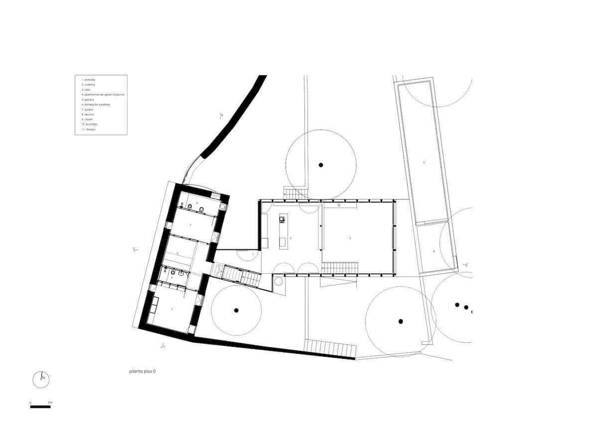 Floret Arquitectura . Golgota 02 - piso 0