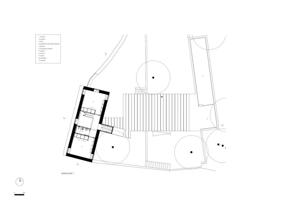 Floret Arquitectura . Golgota 03 - piso 1