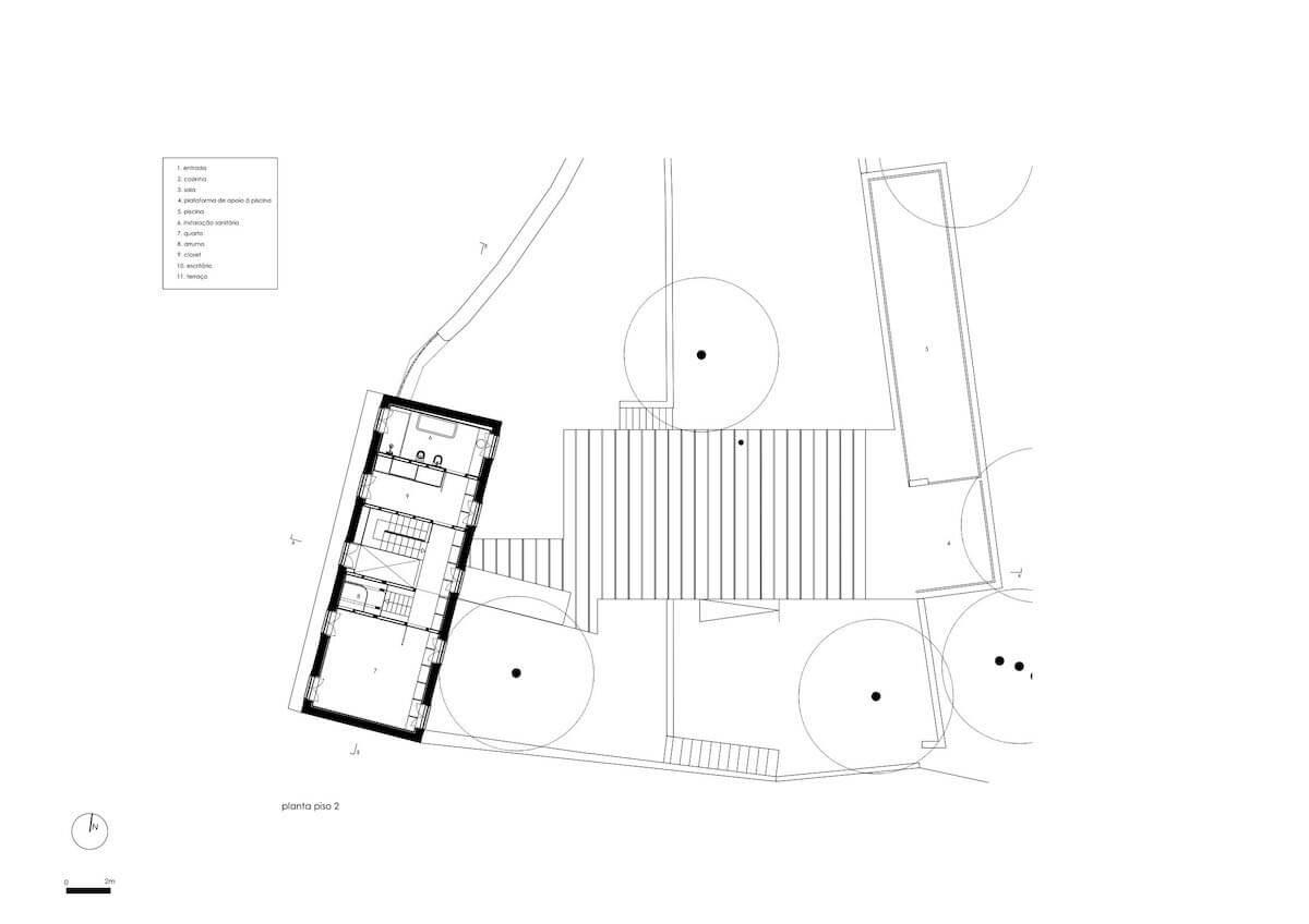 Floret Arquitectura . Golgota 04 - piso 2
