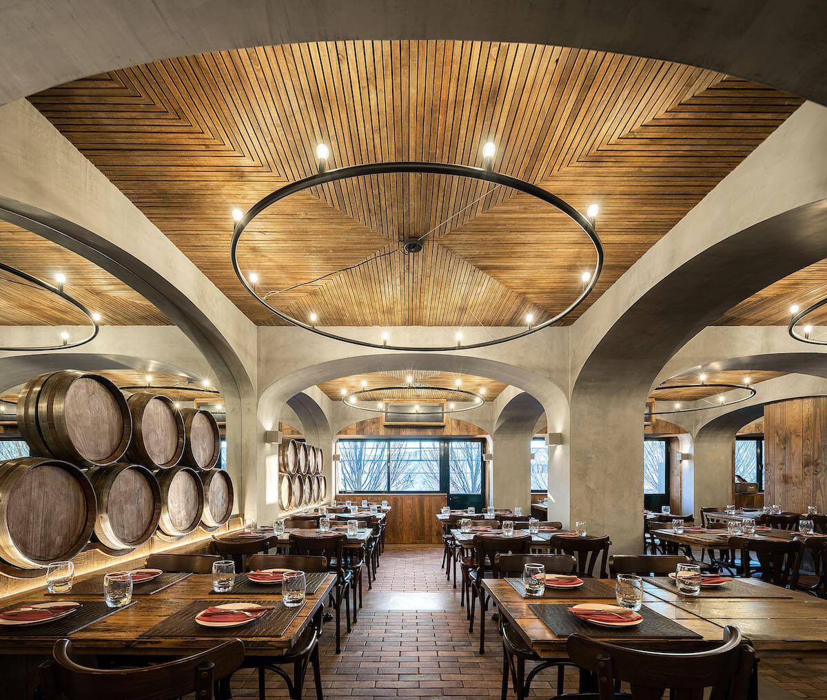 Restaurante Barril . Paulo Merlini .  Créditos © Ivo Tavares Studio