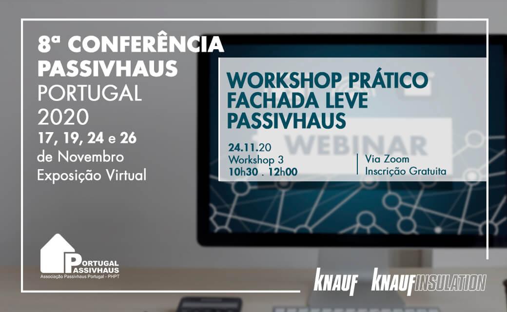Knauf e Knauf Insulation apresentam as suas soluções sustentáveis, em formato virtual, na 8ª Conferência Passivhaus Portugal