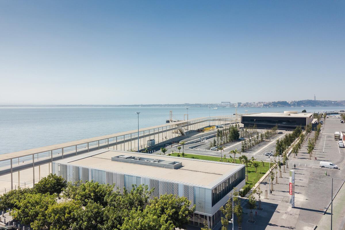 Coberturas eficientes nos edifícios anexos ao terminal da passageiros do porto de Lisboa