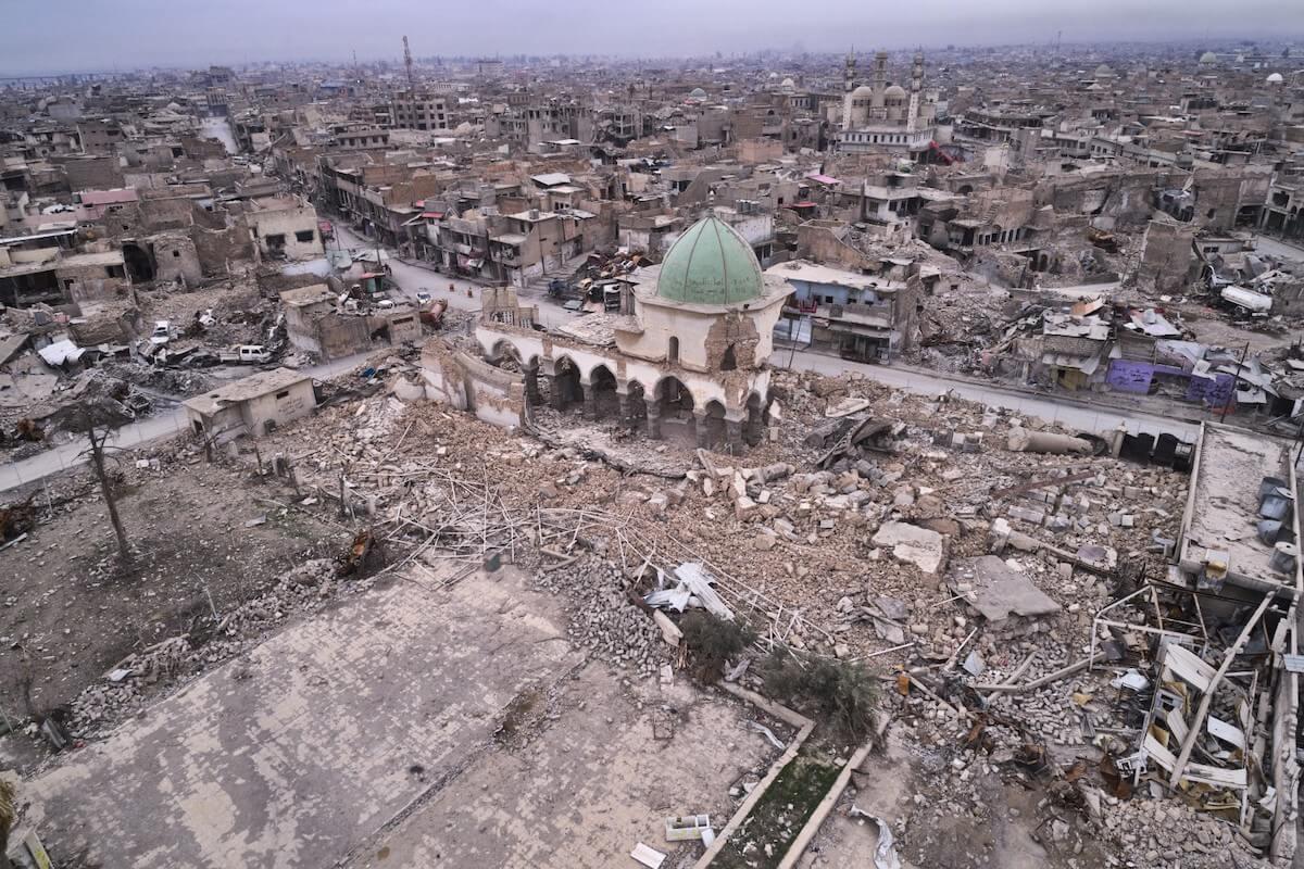 Reabilitação do complexo Al Nouri . Iraque