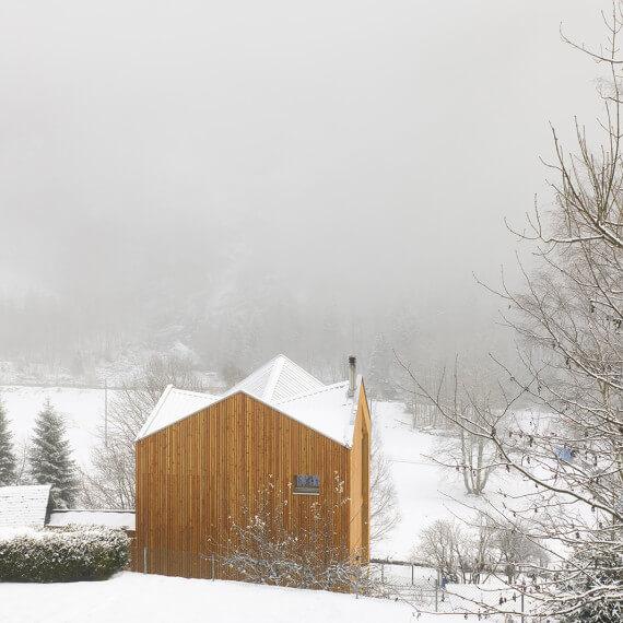Swisshouse XXXV . Davide Macullo Architects . ©Fabrice Fouillet