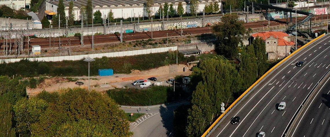 Empreitada Reabilitação da Quinta do Mitra . Porto
