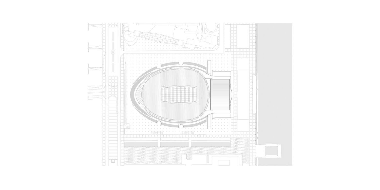 Pavilhão Atlântico_Regino Cruz + S.O.M. . Planta