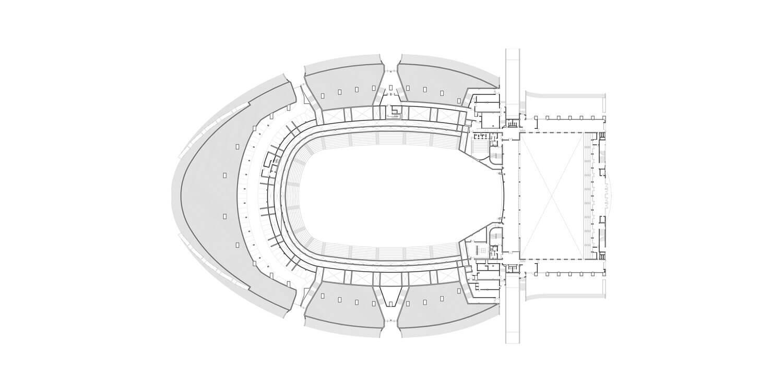 Pavilhão Atlântico_Regino Cruz + S.O.M. . Nível Térreo
