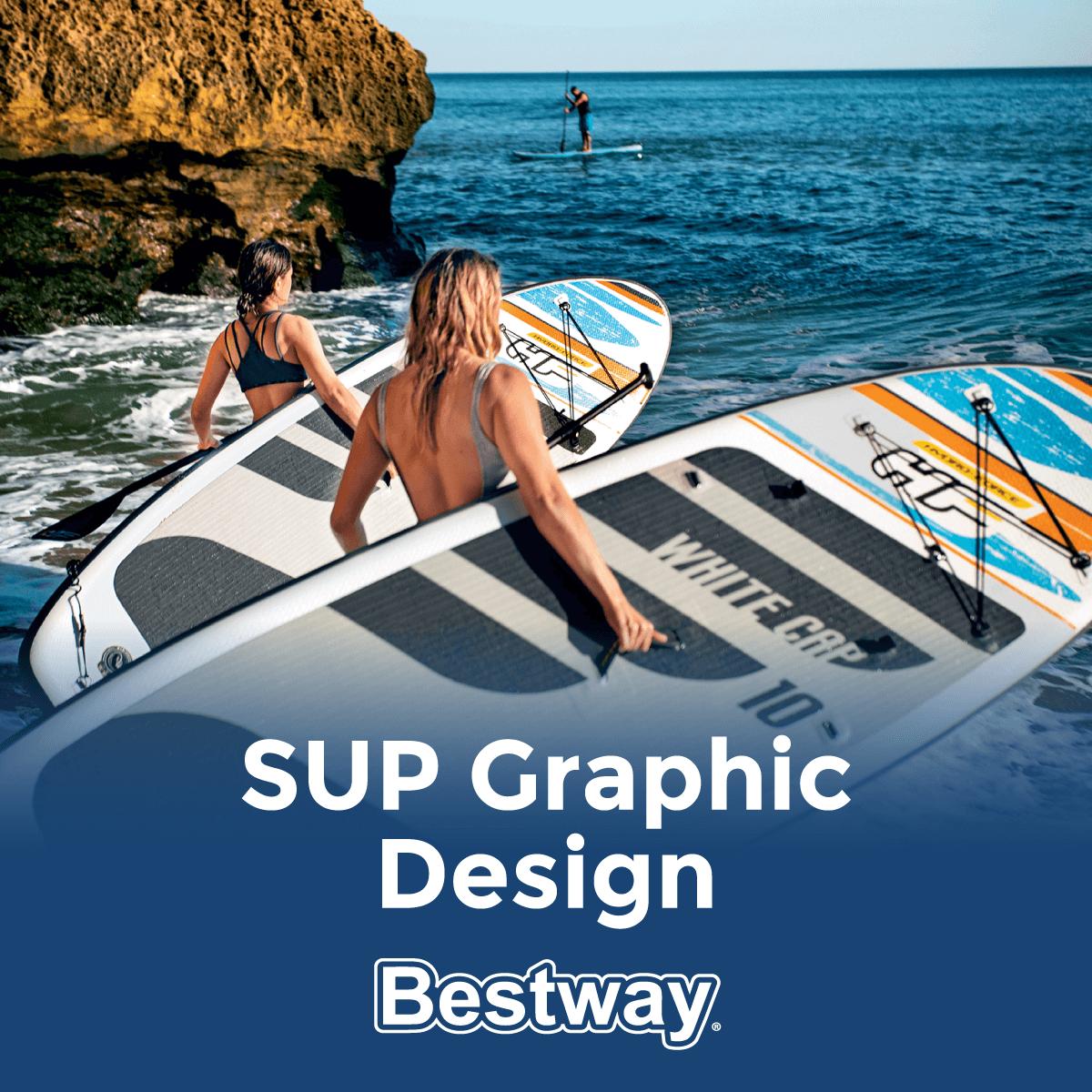 SUP graphic design