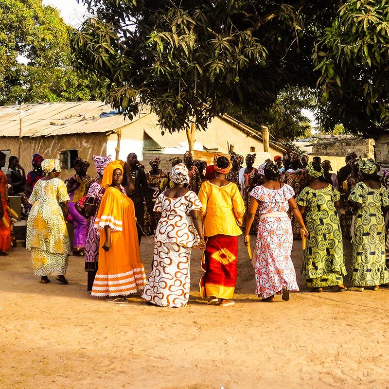 Casa das mulheres  para promover a igualdade de género na África