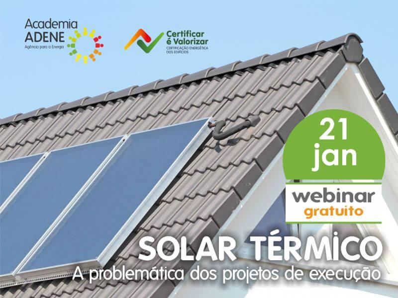 Ciclo Webinars: Energia Solar Térmica