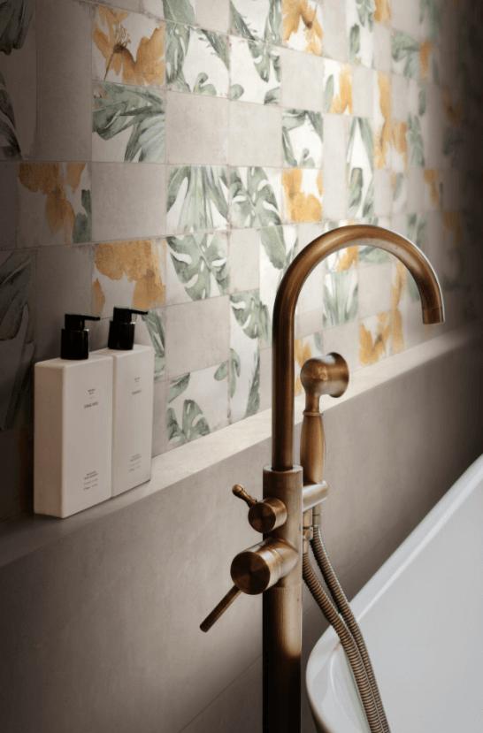 A RAGNO apresenta a nova série de azulejos ROOTS com tecnologia antibacteriana.