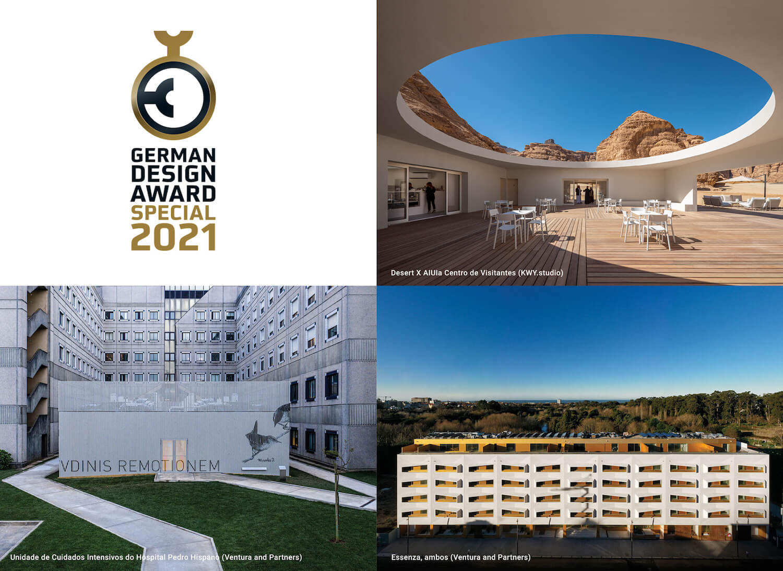15 projectos portugueses entre os vencedores dos German Design Awards 2021