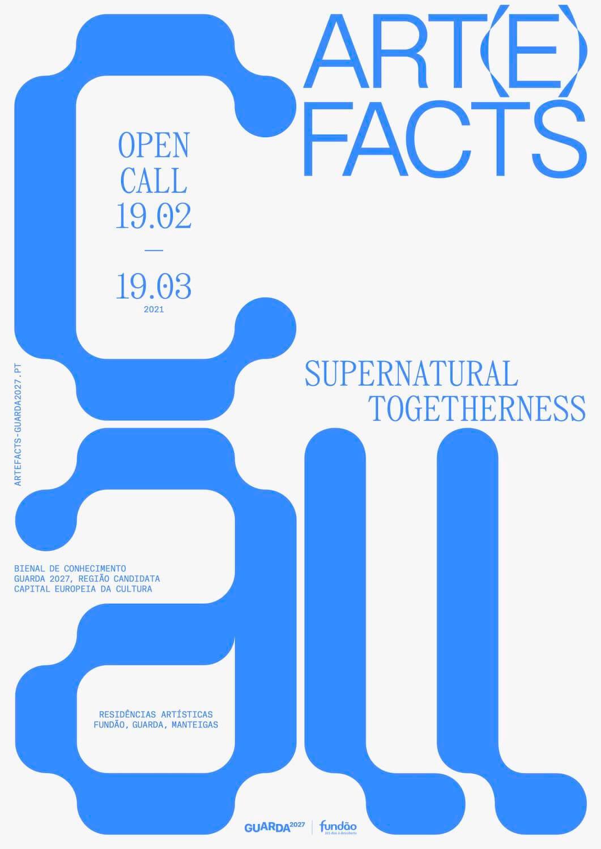 Open Call: Art(e)facts 2021