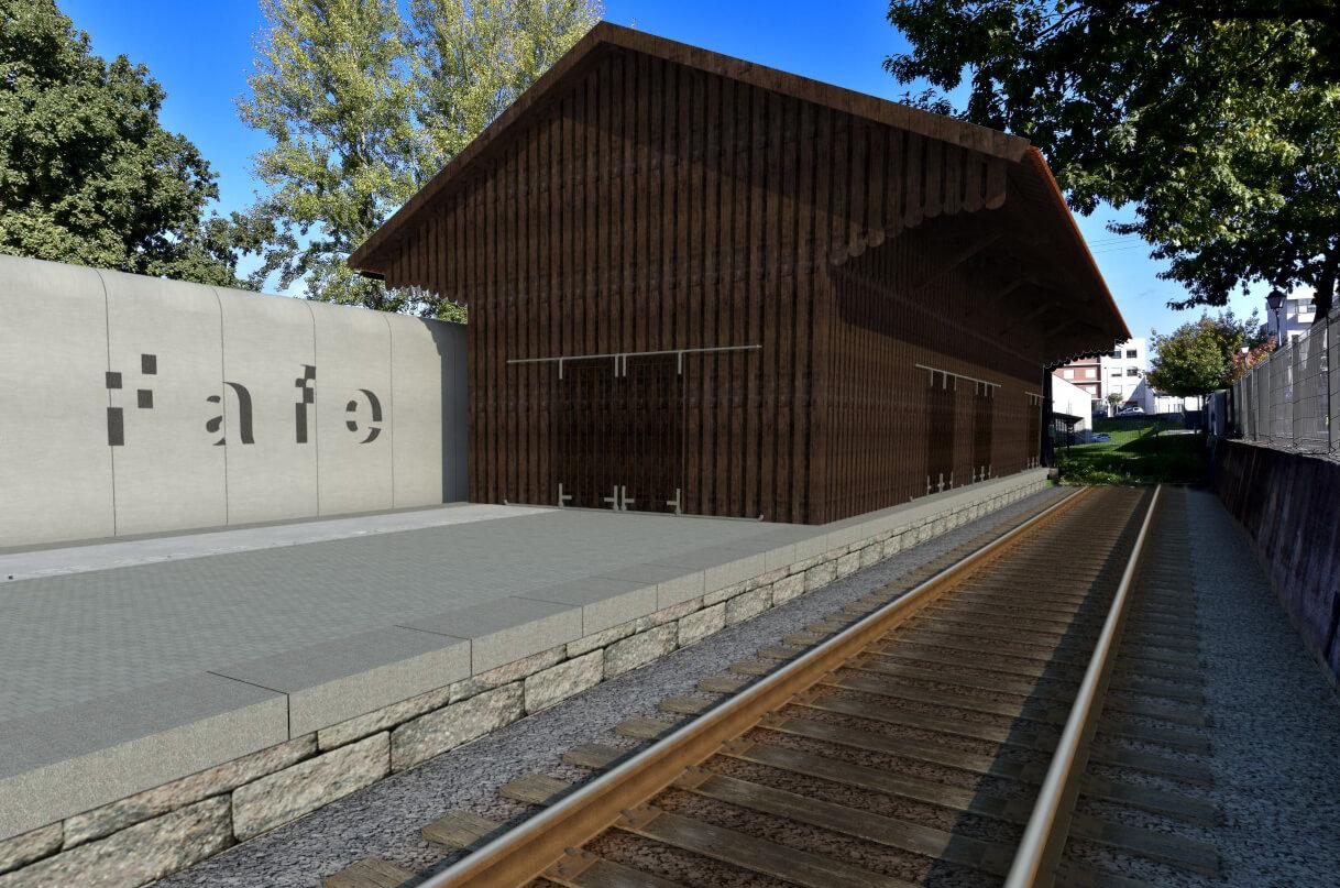 Concurso Público: Reconversão e ampliação do armazém da antiga estação ferroviária de Fafe