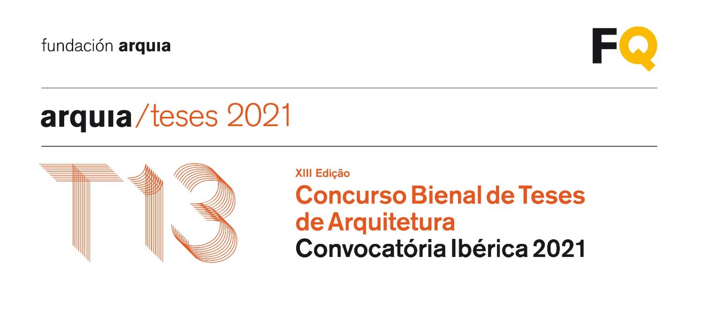 XIII Edição do Concurso Bienal de Teses de Arquitetura