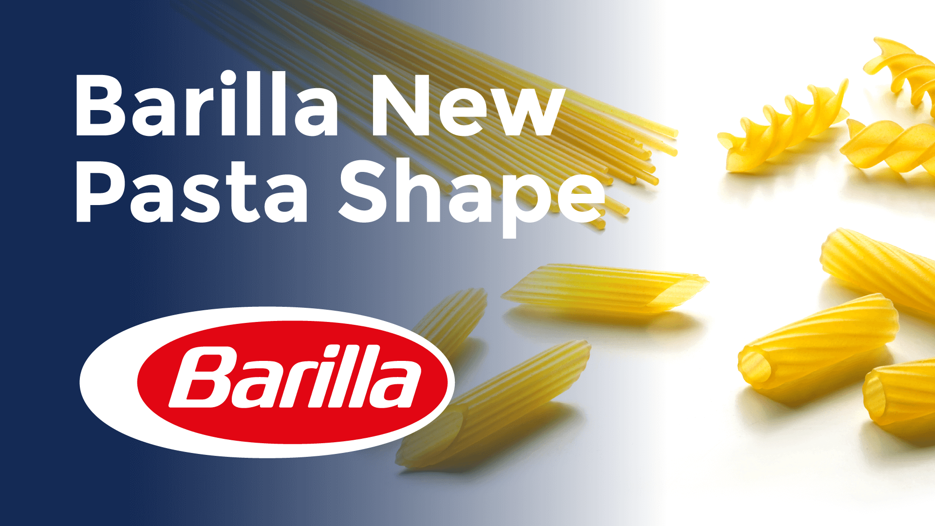 Barilla New Pasta Shape