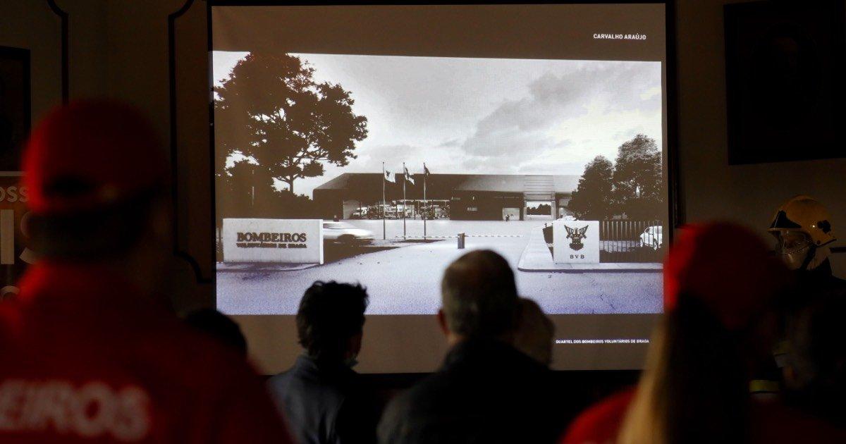 Carvalho Araújo projeta o novo quartel dos Bombeiros Voluntários de Braga