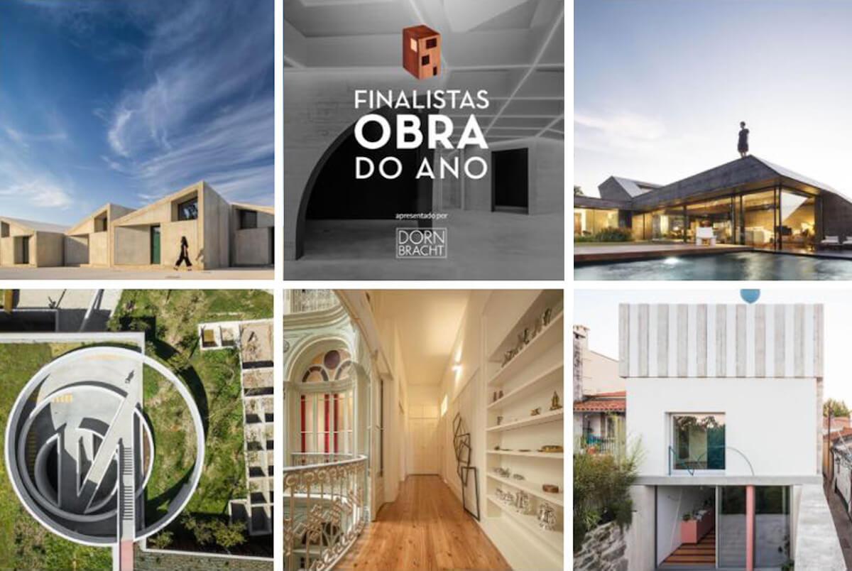 Cinco projetos portugueses na corrida ao prémio Obra do Ano ArchDaily 2021