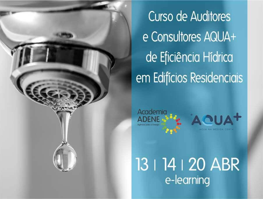 Curso de Auditores e Consultores AQUA+ de Eficiência Hídrica em Edifícios Residenciais