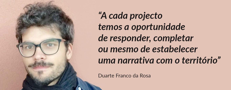 Entrevista a Duarte Franco da Rosa