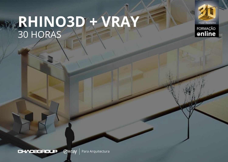 Formação Online Rhino3D + Vray