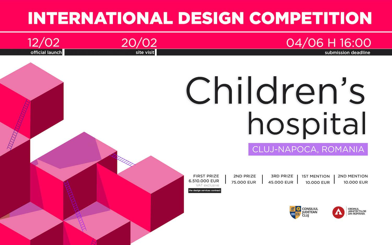 Concurso Internacional: Hospital Pediátrico em Cluj