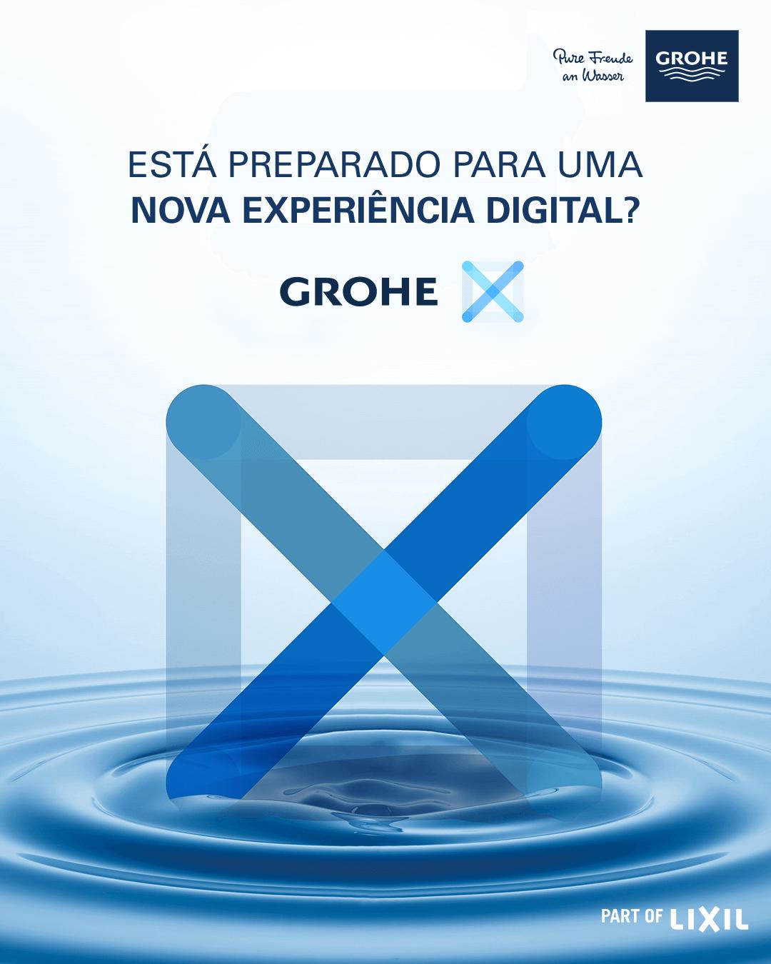 Lançamento mundial da plataforma digital GROHE X